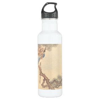 Kitao Masayoshi Magpies in Pine Tree Water Bottle
