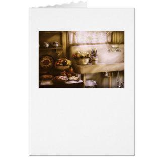 Kitchen - A 1930's Kitchen Card