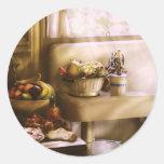 Kitchen - A 1930's Kitchen Round Stickers