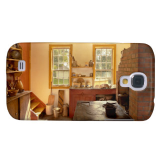 Kitchen - An 1840's Kitchen Galaxy S4 Cover