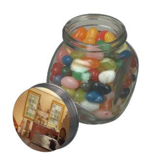 Kitchen - An 1840's Kitchen Glass Jars