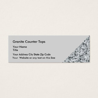 Kitchen And Bath Remodeling Mini Business Card