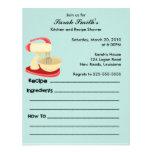 Kitchen and Recipe Shower Personalized Invitation