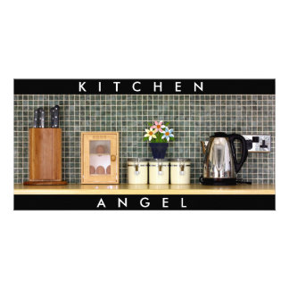 Kitchen Angels Customized Photo Card