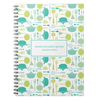 Kitchen Appliance Mom's Favourite Recipes Notebook