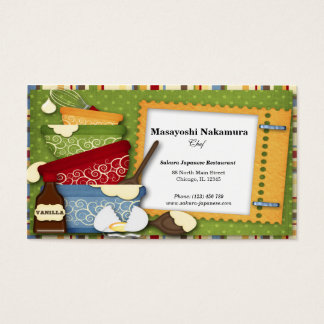 Kitchen Appliances Business Card