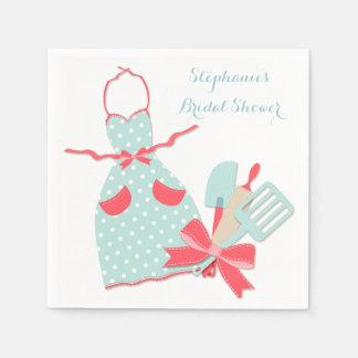 Kitchen Apron and Utensils Paper Napkin
