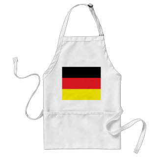 Kitchen apron with Germany flag
