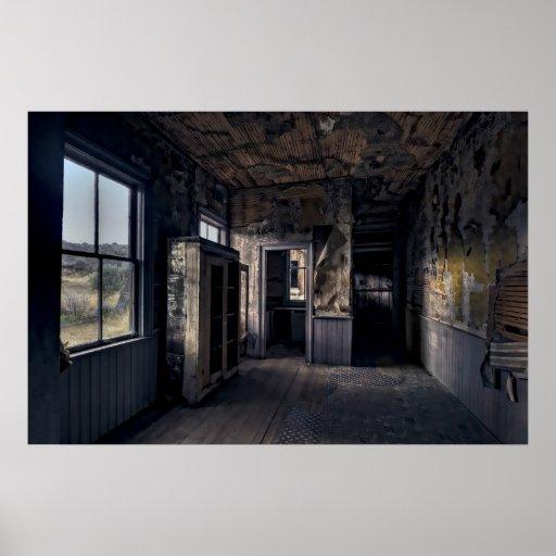 KITCHEN AREA of BANNACK GHOST TOWN HOME - MONTANA Print