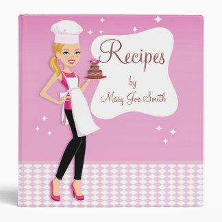 Kitchen Art Custom Recipe Binder Personalized
