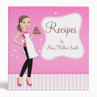 Kitchen Art Custom Recipe Binder Personalized