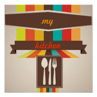 kitchen art Poster