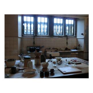 Kitchen at Sudbury Hall in Derbyshire, England Postcard