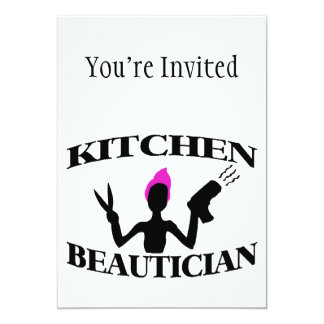 Kitchen Beautician At Home Stylist Card