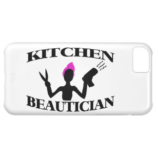 Kitchen Beautician At Home Stylist Case For iPhone 5C