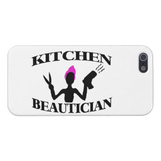 Kitchen Beautician At Home Stylist iPhone SE/5/5s Case