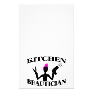 Kitchen Beautician At Home Stylist Stationery