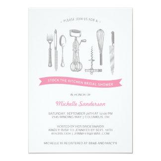 Kitchen Bridal Shower Card