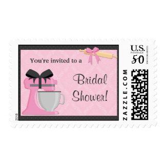 Kitchen Bridal Shower Postage Stamp