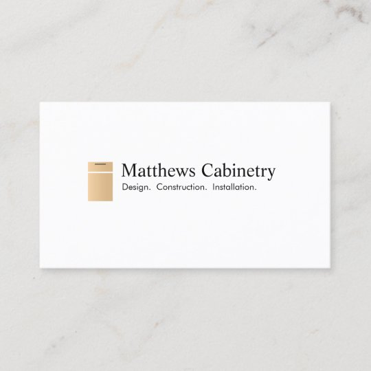 Kitchen Cabinet And Renovation Designer Business Card Zazzle Com