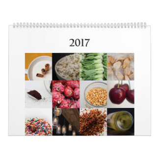kitchen calendar for the food lover