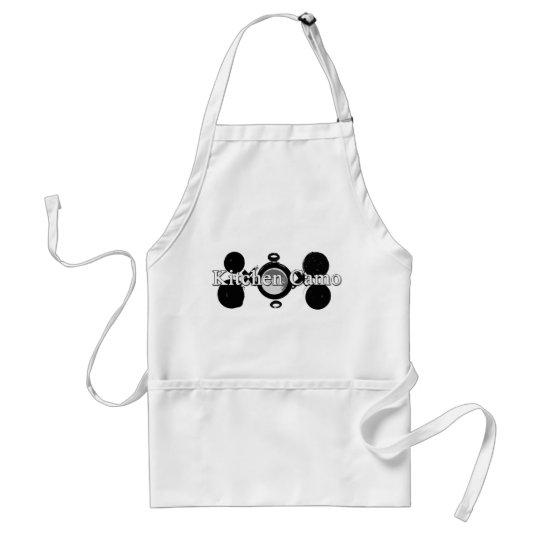 Kitchen camo adult apron