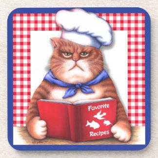 Kitchen Cat Coaster