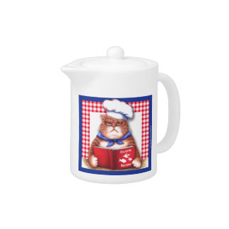 Kitchen Cat Teapot