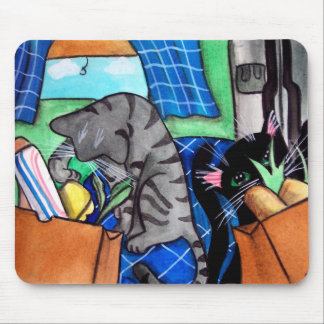 Kitchen Cats Mouse Pad
