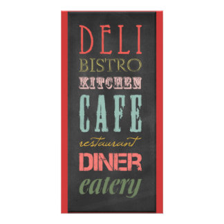 kitchen-chalkboard KITCHEN RESTAURANT DELI CAFE BI Card