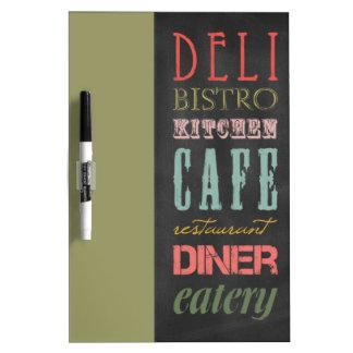 kitchen-chalkboard KITCHEN RESTAURANT DELI CAFE BI Dry Erase Board