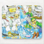 Kitchen Chaos Mouse Pad