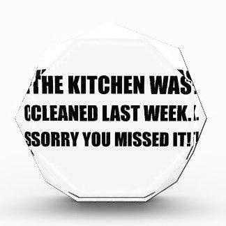 Kitchen Cleaned Last Week Award
