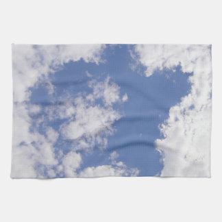 Kitchen cloth cloud star towel