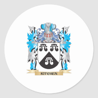 Kitchen Coat of Arms - Family Crest Sticker