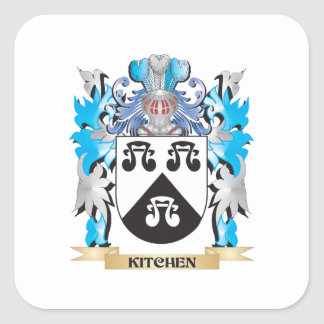 Kitchen Coat of Arms - Family Crest Stickers
