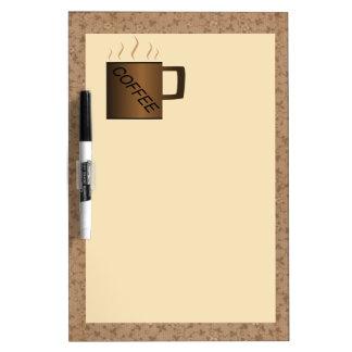 Kitchen Coffee Dry Erase Board