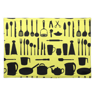 Kitchen Collage Placemats