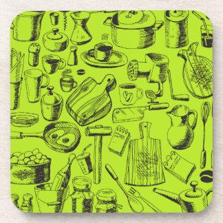 Kitchen Drink Coasters