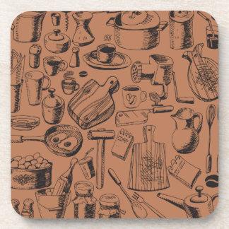 Kitchen Beverage Coasters