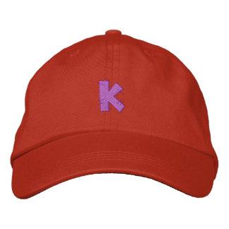 Kitchen Craft Letter K Baseball Cap