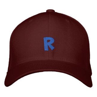Kitchen Craft Letter R Embroidered Baseball Hat