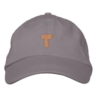 Kitchen Craft Letter T Embroidered Baseball Cap