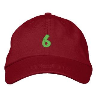 Kitchen Craft Number 6 Embroidered Baseball Hat