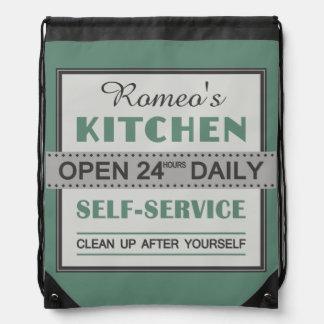 Kitchen – custom name – backpack