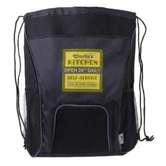 Kitchen – custom name – backpacks