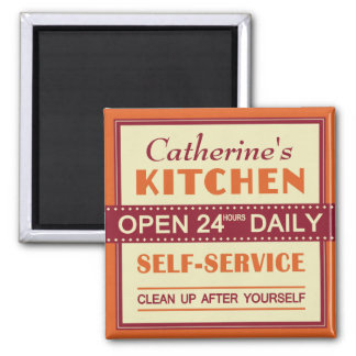 Kitchen – custom name – magnet