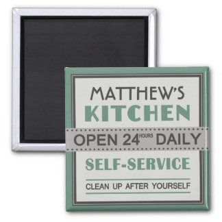 Kitchen – custom name – magnet