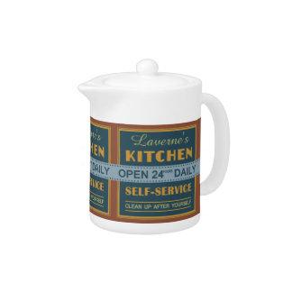 Kitchen – custom name – teapots