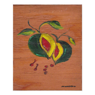 Kitchen Decor Collection - Fruit Poster